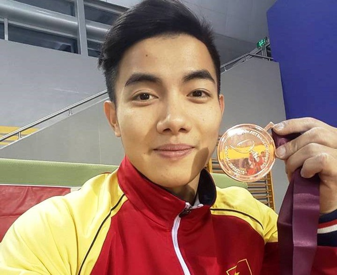 VDV the duc dung cu Pham Phuoc Hung gianh ve du Olympic hinh anh