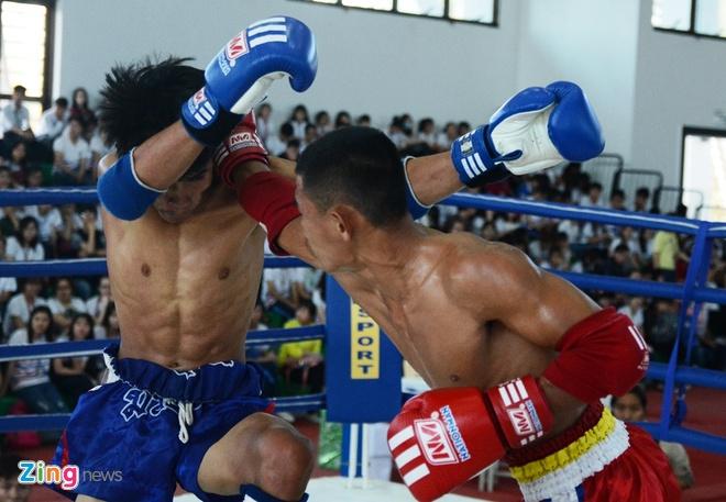 Dai chien Muay Thai tai Lien hoan vo thuat quoc te hinh anh 5