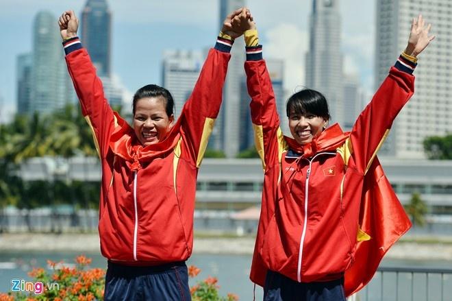 Pham Thi Hue gianh ve thu 15 du Olympic cho Viet Nam hinh anh