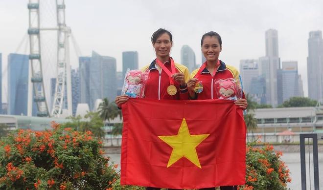 Thuyen doi nu Viet Nam vuot qua vong loai Olympic hinh anh 1