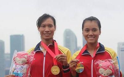 Thuyen doi nu Viet Nam vuot qua vong loai Olympic hinh anh