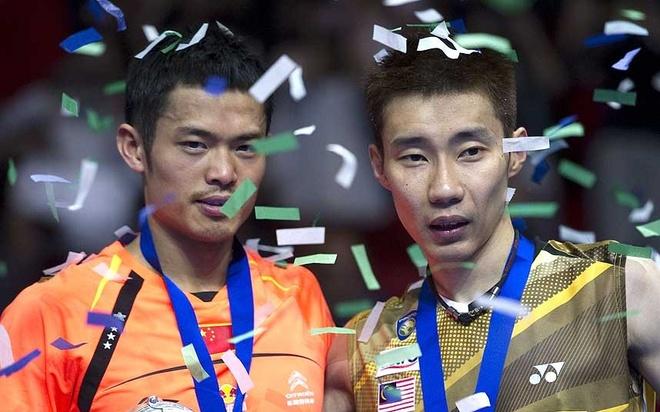 Dai chien Lin Dan vs Lee Chong Wei tai giai cau long chau A hinh anh