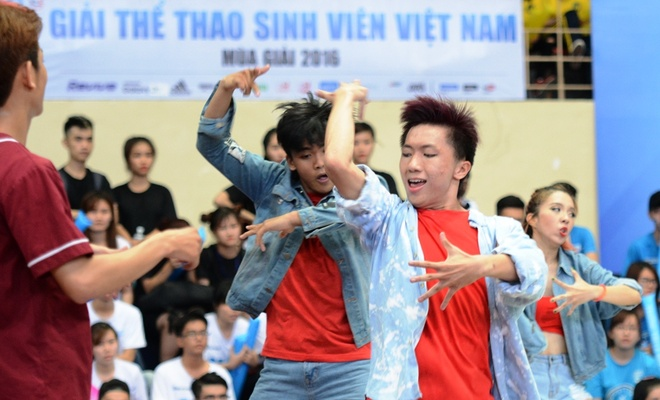 Thanh Duy hoa minh vao giai the thao sinh vien Viet Nam hinh anh 1