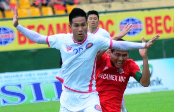 Binh Duong hai long du chia diem tan binh V.League hinh anh