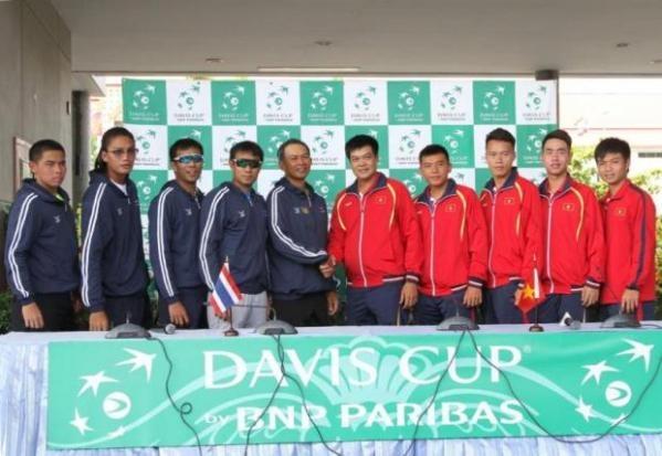 Thai Lan tu tin danh bai Viet Nam tai Davis Cup hinh anh