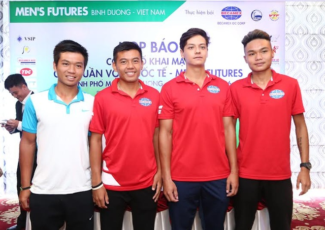 Ly Hoang Nam muon vo dich Men's Futures anh 1