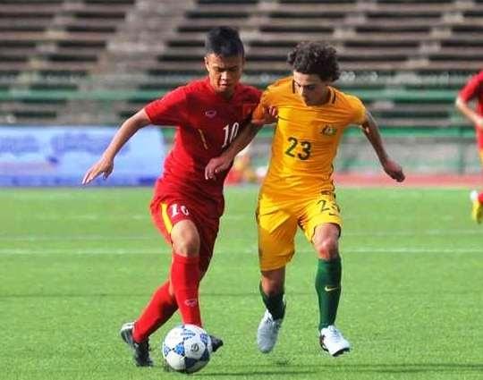 5 diem nong o tran U16 Viet Nam vs Australia hinh anh