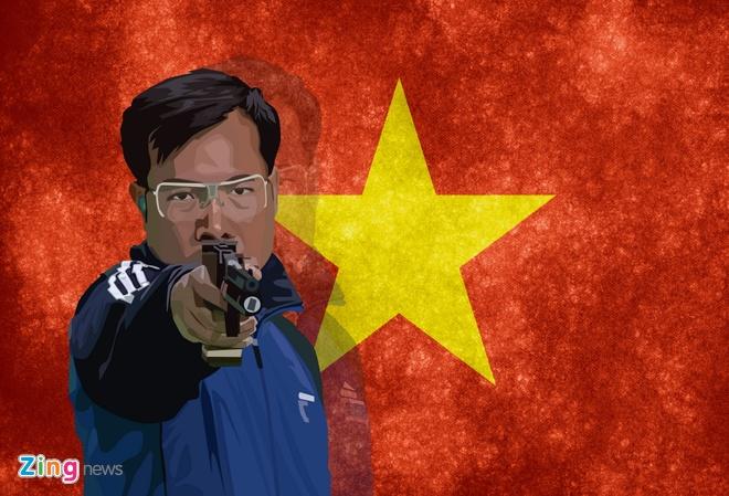 Hoang Xuan Vinh - nguoi thay doi lich su the thao Viet Nam hinh anh