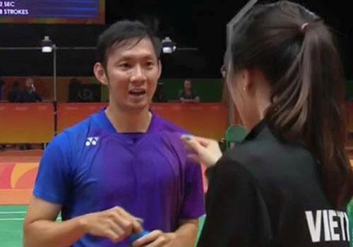 Ban gai co vu Tien Minh thang tran ra quan o Olympic 2016 hinh anh