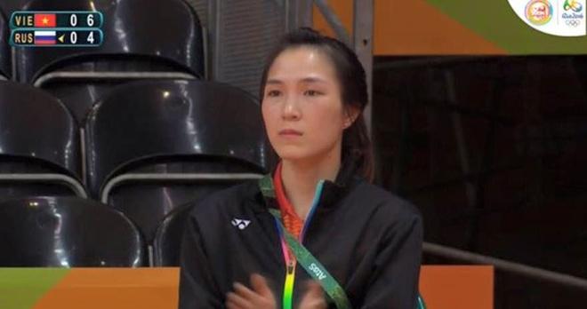 Ban gai co vu Tien Minh thang tran ra quan o Olympic 2016 hinh anh 1