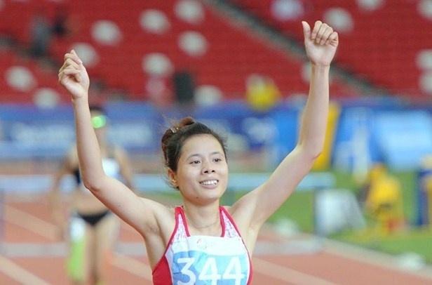 Nguyen Thi Huyen khong vuot qua vong loai 400 m hinh anh