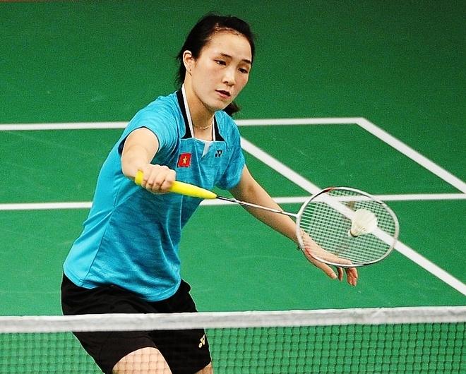 Vu Thi Trang thang tran dau tai Olympic hinh anh