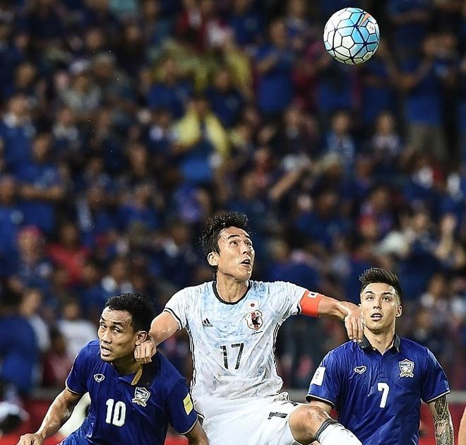 Thai Lan thua tran thu 2 tai vong loai World Cup 2018 hinh anh 1