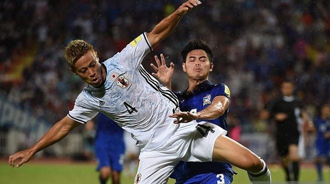 Thai Lan thua tran thu 2 tai vong loai World Cup 2018 hinh anh