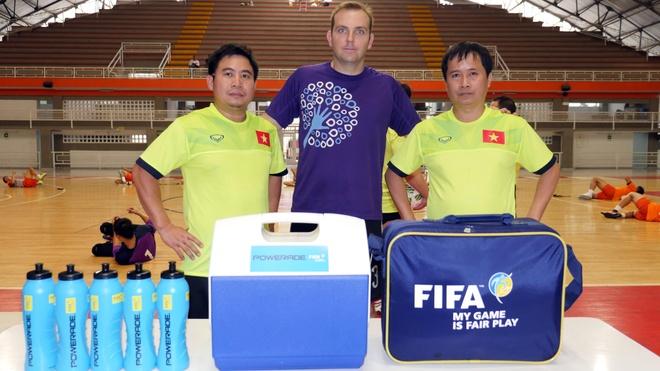 Tuyen futsal Viet Nam du World Cup anh 6