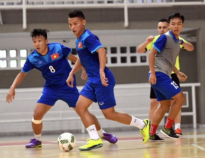 Tuyen futsal Viet Nam du World Cup anh 7