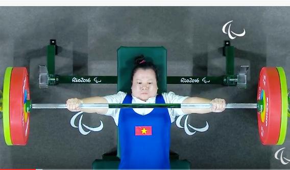 Dang Thi Linh Phuong doat HCD Paralympics hinh anh