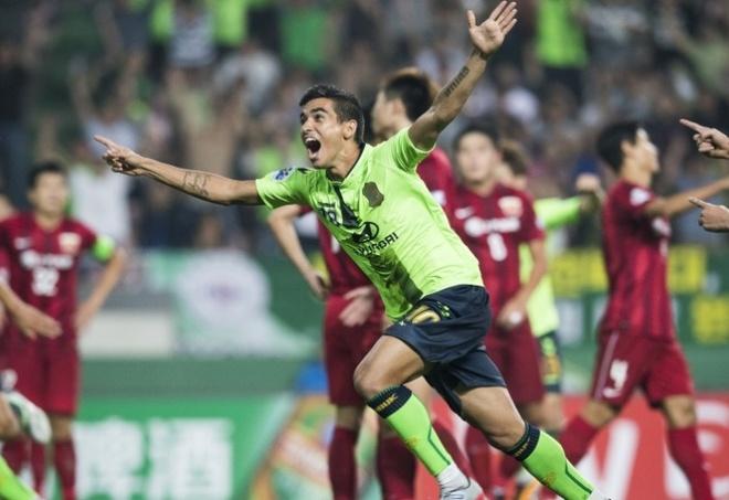 Doi bong nha giau Trung Quoc thua dam o AFC Champions League hinh anh