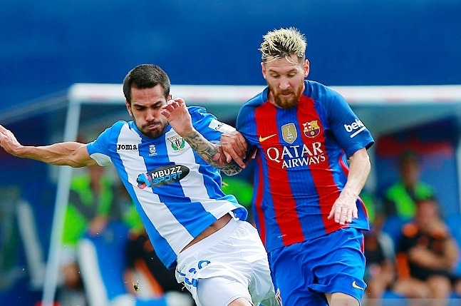 Highlights Leganes 1-5 Barcelona hinh anh