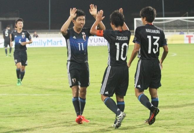 Highlights U16 Viet Nam 0-7 U16 Nhat Ban hinh anh