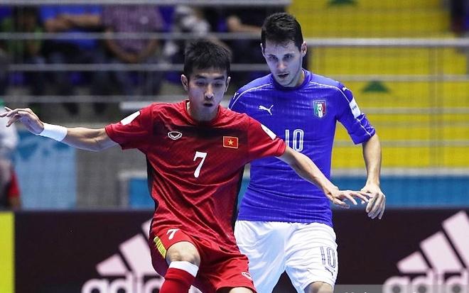 Tuyen futsal Viet Nam vao vong 1/8 World Cup 2016 hinh anh