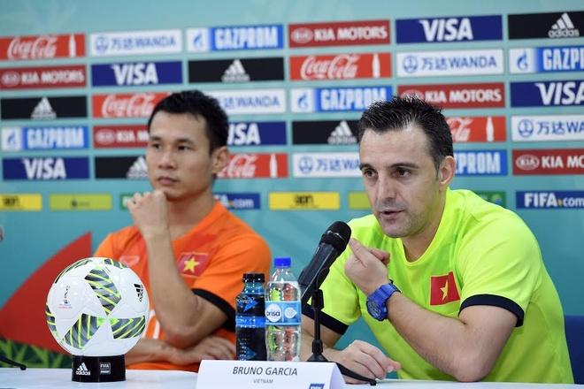 Tuyen futsal Viet Nam cho thay kha nang chiu dung ap luc hinh anh