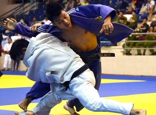 186 VDV du giai judo quoc te Viet Nam 2016 hinh anh