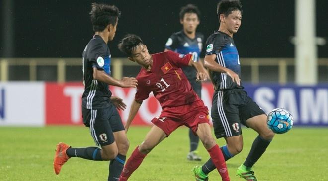U19 Nhat Ban gap U19 Viet Nam anh 1