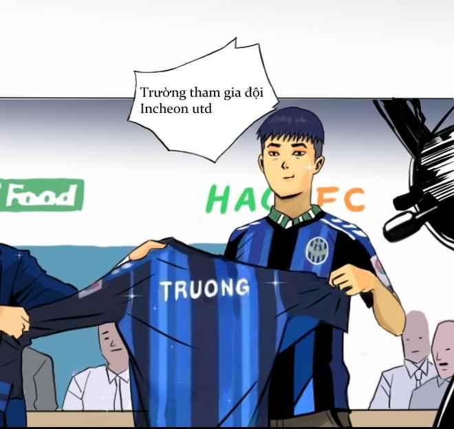 Xuan Truong len truyen tranh truc tuyen cua Han Quoc hinh anh