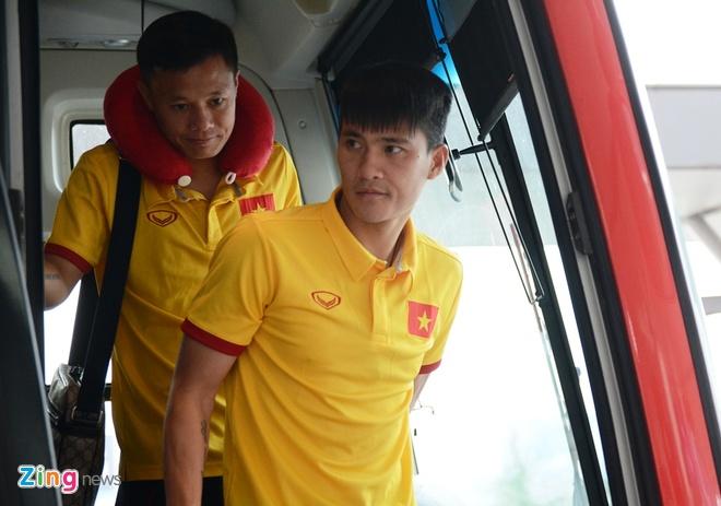 Tuyen Viet Nam len duong du AFF Cup anh 1