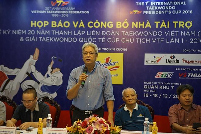 Chuoi su kien mung Lien doan Taekwondo Viet Nam tron 20 tuoi hinh anh