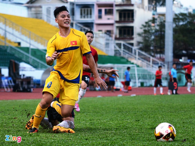 Doi hinh chat luong cua Myanmar de doa U21 Viet Nam hinh anh 1