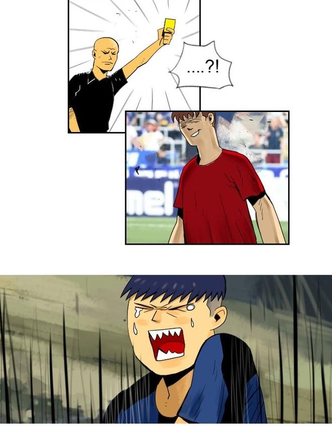 Webtoon Xuan Truong tuc gian vi dinh kien cau thu thuong mai hinh anh 16