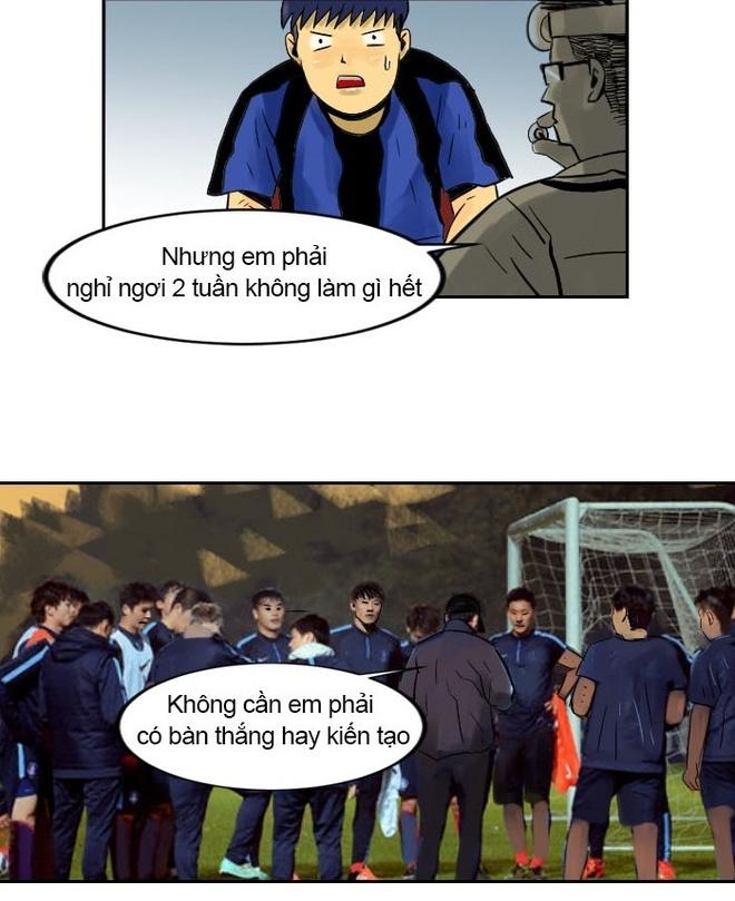 Webtoon Xuan Truong tuc gian vi dinh kien cau thu thuong mai hinh anh 18