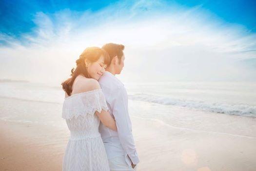 Cap Tien Minh – Vu Thi Trang nen duyen vo chong hinh anh