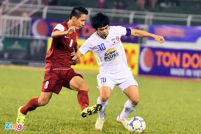 Tran U21 HAGL vs U21 Viet Nam anh 3