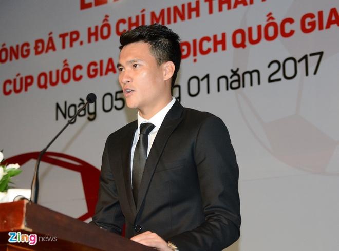 Cong Vinh lam quyen Chu tich CLB TP.HCM hinh anh 1