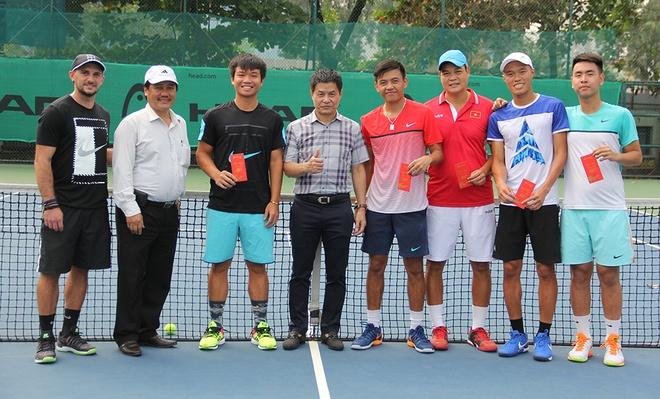 Tuyen Viet Nam chuan bi cho Davis Cup anh 1