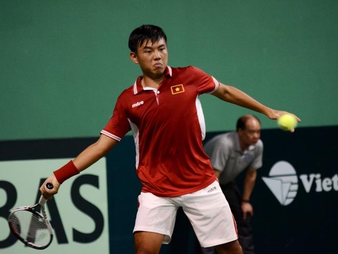 Viet Nam tam hoa Hong Kong tai Davis Cup hinh anh