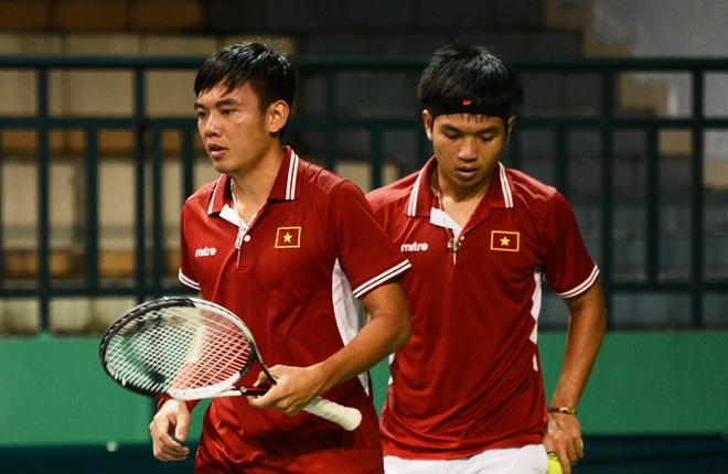 Viet Nam de thua Hong Kong tai Davis Cup hinh anh