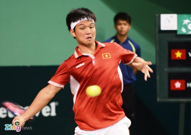 Viet Nam de thua Hong Kong tai Davis Cup hinh anh 1