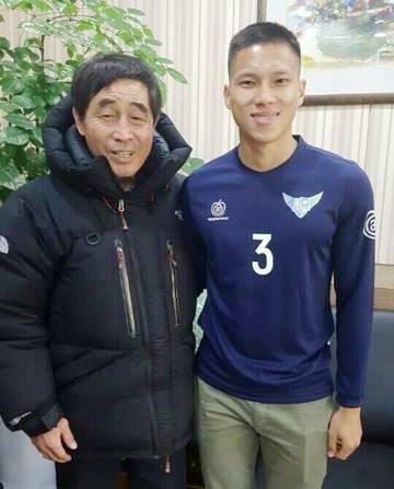 Anh Tai chinh thuc sang khoac ao Uijeongbu anh 1