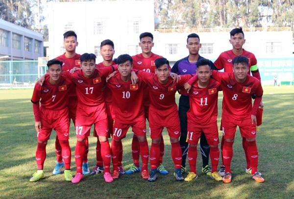 U18 Viet Nam hoa U19 Van Nam anh 1