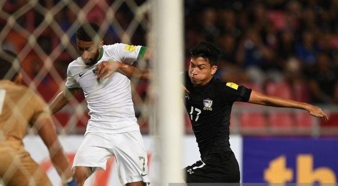 Thai Lan thua Saudi Arabia 0-3 anh 1