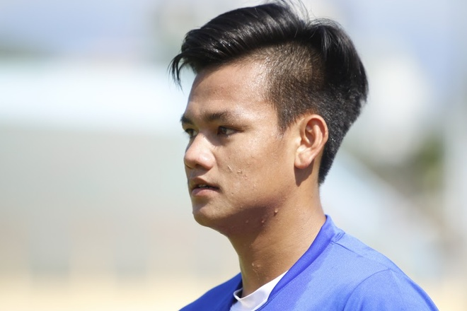 U20 Viet Nam tap the luc sang 24/3 anh 1
