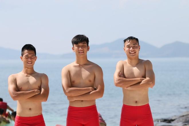 U20 Viet Nam thoai mai vui dua o khu nghi mat 5 sao hinh anh 2