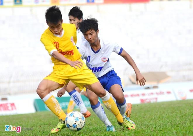 U19 Ha Noi thang U19 Hue 2-1 anh 1