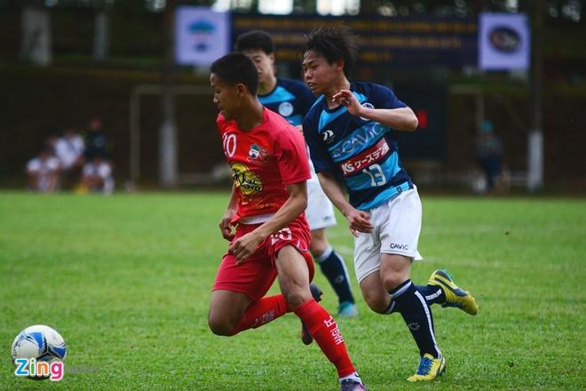 Dan em Cong Phuong thua dam U18 Mito Hollyhock hinh anh 7