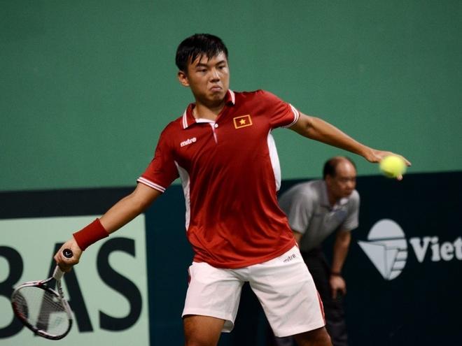 Hoang Nam chan thuong, tuyen Viet Nam gap kho o Davis Cup hinh anh
