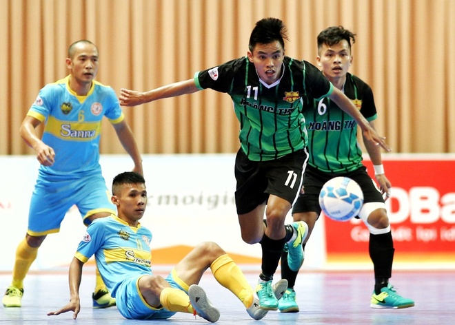 Giai futsal vo dich quoc gia khoi dong hao hung hinh anh
